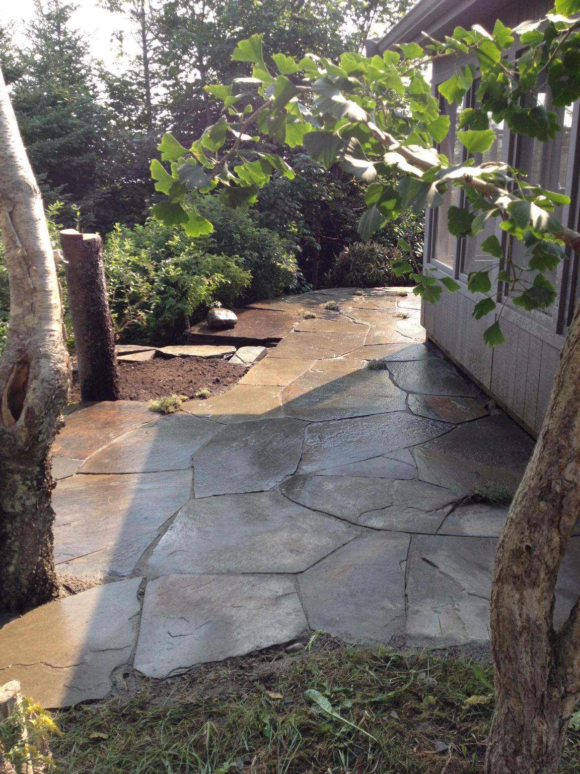 random flagstone walkway lapierre stone workslapierre stone works